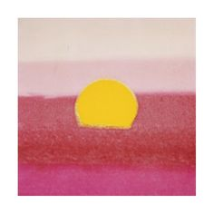 Sunset, c.1972 (hot pink, pink, yellow) Giclee Print by Andy Warhol at Art.com