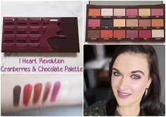 Vero does this : Julie Makeup Revolution Palette, Drugstore Eyeshadow, Chocolate Palette, Face Hair, Makeup Brands, Cranberries, Heart, Collection, Color