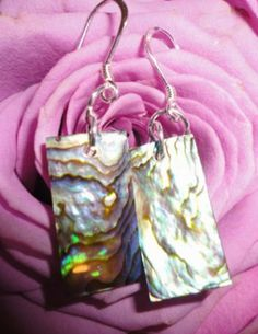 Shell Sterling Silver Earrings