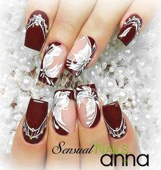 This is My fantasy Nails Bling Nail Art, Purple Nail Art, Pretty Nail Art, Bling Nails, Acrylic Nail Designs, Nail Art Designs, Bridal Nail Art, Nagellack Trends, Hot Nails