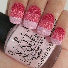Ombre Nail Caviar