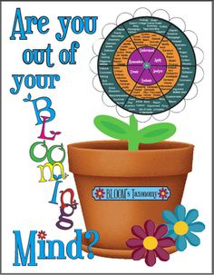 Are you out of your bloomin' mind? Blooms revised- Hello Literacy: Teaching Web Tools for Higher Level Thinking School Classroom, School Fun, Too Cool For School, School Stuff, Classroom Ideas, School Ideas, Teacher Tools, Teacher Resources, Teaching Ideas