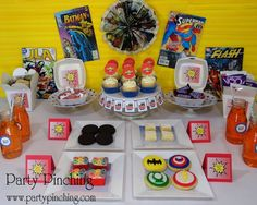 BIG BANG THEORY BDAY PARTY!  Such a great idea for a teen or preteen guy!! or say a husband :)