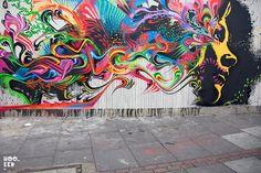 Stinkfish street artist