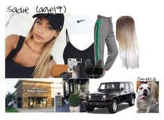 """""""Sadie // 8-25-17 // Vet Check Up + Breakfast ✨💚"""" by dream-familiess ❤ liked on Polyvore featuring NIKE, Wrangler, Tory Burch, Recover, GoPro, Cherokee and TheMasonFamily"""