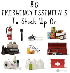 Ever wonder what the best emergency supplies are to have on hand? I've compiled my own list to get your thinking about yours!