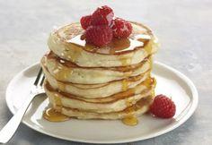 perfect pancakes made with greek yogurt!