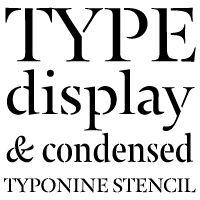 Typonine Stencil Pro