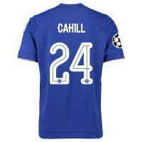 Chelsea FC 2015-16 Season UCL CAHILL #24 Home Soccer Jersey [C369]