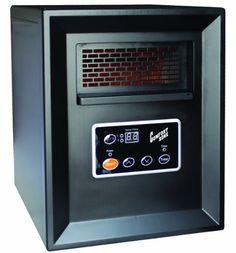 Comfort Zone Infrared Quartz Heater - 3413 BTU, 1000 Watts, Model# CZ2011P for sale