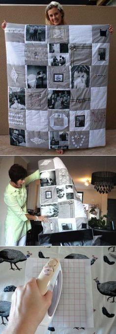 Необыкновенное одеяло своими руками - Рукоделие