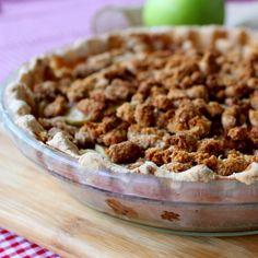 Dutch Apple Pie AIP (crust: coconut flour, arrowroot flour, lard/palm shortening, gelatin egg)