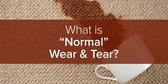"""There's a phrase in landlord-tenant law called """"normal wear and tear."""" Here's our guide as to what you can safely assume is normal wear and tear. Landlord Tenant, Being A Landlord, Income Property, Real Estate Information, Normal Wear And Tear, Home Repair, Things To Come, Learning, Renting"""