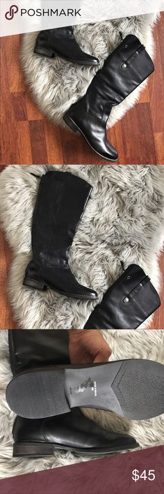 Matisse Yorker tall leather boots New without box Matisse Yorker tall black boots. Size 8. Made in Brazil. Elastic calf area for comfort. Back zip with top snap. These are gorrrrrrgeous. Matisse Shoes