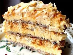 Mulți spun că e cel mai bun tort din lume! No Cook Desserts, Sweets Recipes, Baking Recipes, Cake Recipes, Top Recipes, Romanian Desserts, Romanian Food, Specialty Cakes, Eat Dessert First