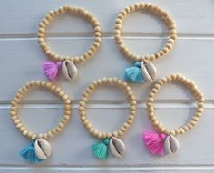 make mermaid bracelets - party favors