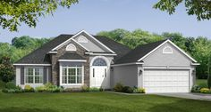 Ranch Style Floor Plans: The Stafford | Wayne Homes