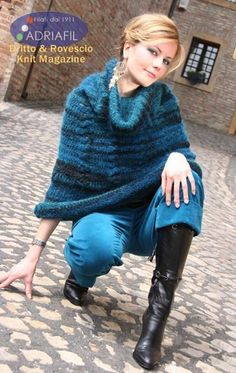 Mekong Mantle in Adriafil Opale - Downloadable PDF. Discover more patterns by Adriafil at LoveKnitting. We stock patterns, yarn, needles and books from all of your favourite brands.