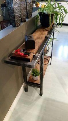 Table d entré style industriel