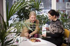 Maija Itkonen ja Reetta Kivelä pohtivat, miksi markkinoilta ei löydy kiireisille ruuanlaittajille maukasta kasvisvaihtoehtoa jauhelihalle. Vastaukseksi he kehittivät nyhtökauran.