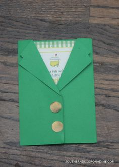 Masters Themed Birthday Party