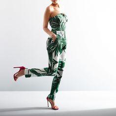Sam & Lavi Natalie Jumpsuit // Printed jumpsuit