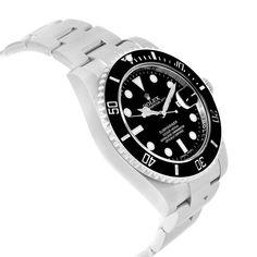 a98231425a1 17849 Rolex Submariner Ceramic Bezel Black Dial Steel Mens Watch 116610  SwissWatchExpo Rolex Submariner Sem Data