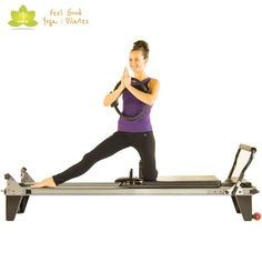 kneeling inner thigh pilates reformer exercise 3
