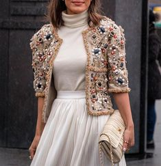 "The Catwalk Italia - TCI ""#chanel jacket 😍 via @matrioshka_stories"""