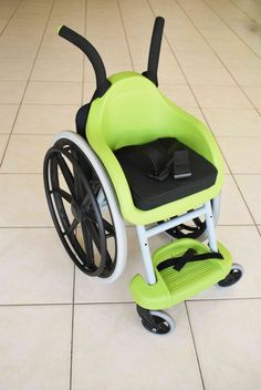 Israeli team develops innovative children's wheelchair that costs less than $100!...... wheelchair pricing on the low end is like 5000.00