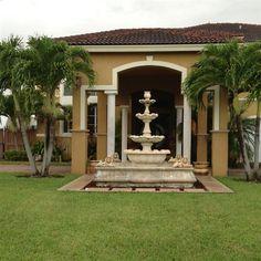 Front Yard Fountain - Miami, FL