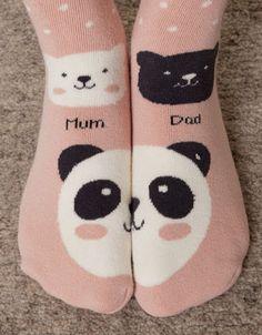 Panda print long socks - Socks - Accessories - Ukraine