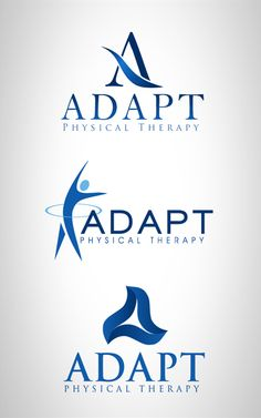 Adapt Physical Therapy Logo by Emily Kil, via Behance
