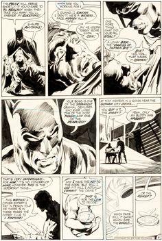 art by Neal Adams and Dick Giordano -Batman #234 Page 6 Original Art (DC, 1971)