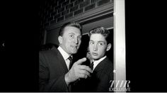 Kirk Douglas and his son Michael attended a March 1960 movie premiere when Michael was 16 years old.