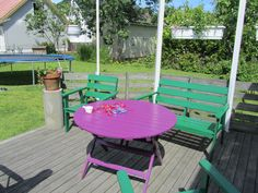 . Outdoor Furniture Sets, Outdoor Decor, Picnic Table, My House, Garden, Life, Home Decor, Garten, Decoration Home