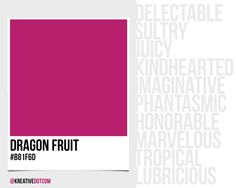 How Does The Color Dragon Fruit B81f6d Make You Feel What Emotions