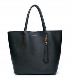 CZARNY KLASYCZNY SHOPPER TOREBKA MONNARI 8470067922 - Allegro.pl Tote Bag, Bags, Fashion, Handbags, Moda, Dime Bags, Totes, Fasion, Hand Bags