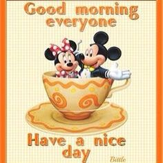 Image result for good morning minnie mouse