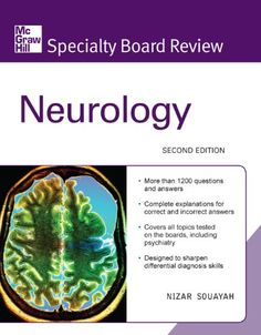 McGraw-Hill Specialty Board Review Neurology, Second Edition by Nizar Souayah