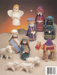 The Birth of Christ Annie's Attic Crochet by LucyGooseyDolls