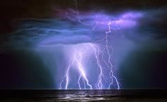 """Oil Tanker hit by lightning, Australia, by Graham Newman. """"The Guanabra is a…"""