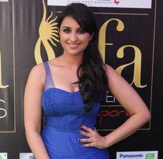 Parineeti Chopra Hot in Blue Dress