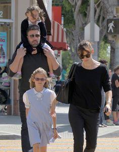 Jennifer Garner & Ben Affleck's Date With Daughters - http://site.celebritybabyscoop.com/cbs/2015/05/29/jennifer-afflecks-daughters #BenAffleck, #IceCream, #JenniferGarner, #Rumors, #SeraphinaAffleck, #SplitDivorce, #VioletAffleck