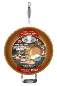 Amazon.com: GOTHAM STEEL 12.5 inches Non-stick Titanium Frying Pan by Daniel Green: Kitchen & Dining