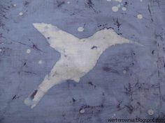 koliber batik :) #werterownia