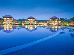 Cool Pool - Poolandspa.com Pool at Tamassa, LUX Island Resorts, Mauritius.