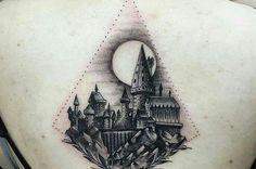 Howarts #harrypotter tattoo