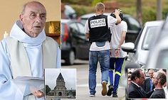 ISIS knifemen film themselves murdering French priest in Normandy attack | Daily Mail Online