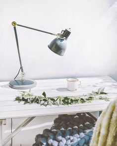 Desk Lamp, Table Lamp, Scandinavian Style, Knitting, Instagram Posts, Home Decor, Table Lamps, Decoration Home, Tricot
